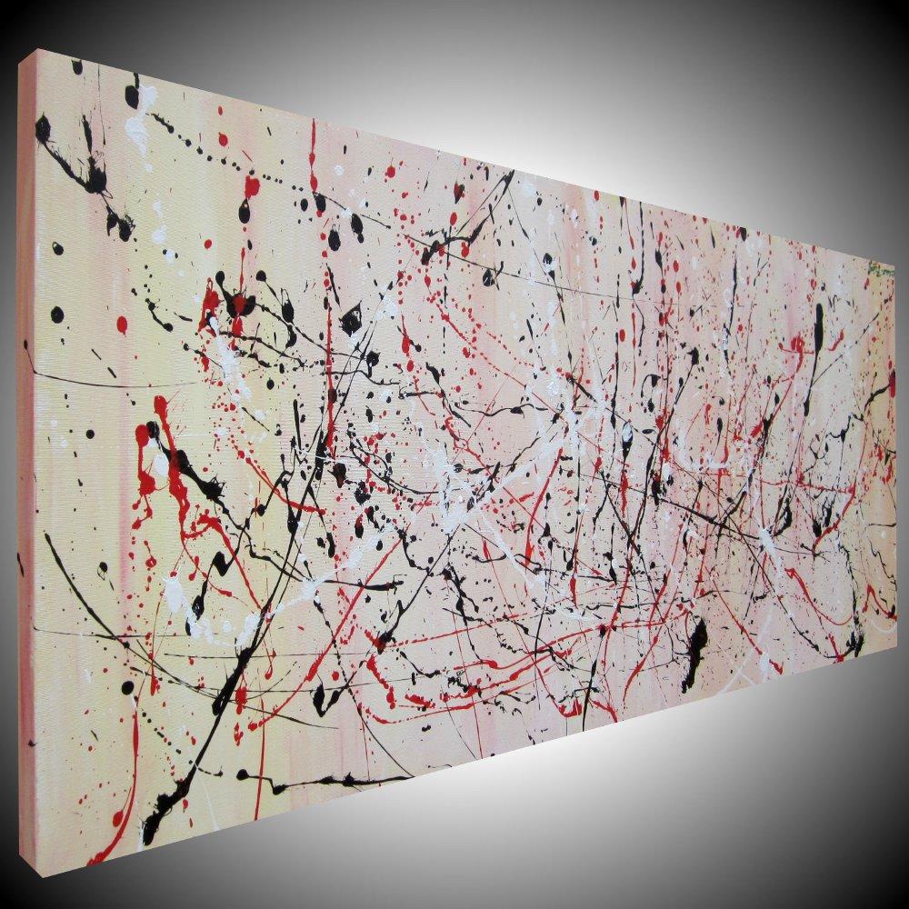 Dipinto astratto moderno sauro bos for Quadri verticali astratti