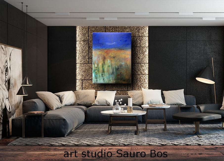 quadro moderno per soggiorno  sauro bos