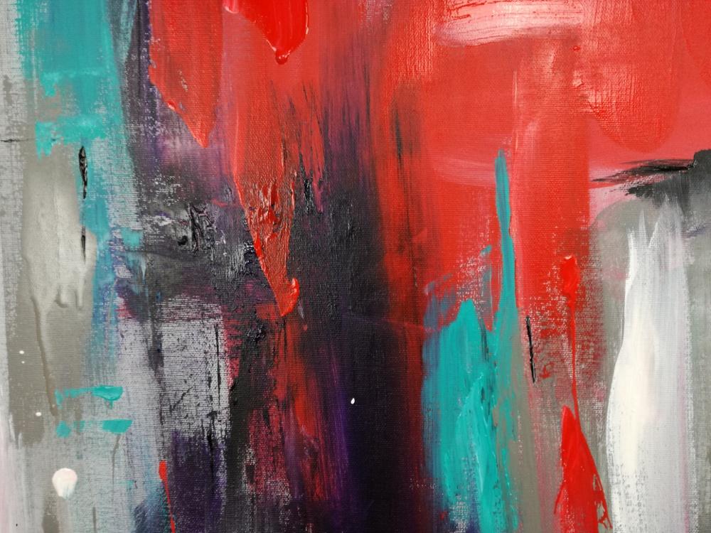 quadri astratti dipinti a mano 120x120 sauro bos