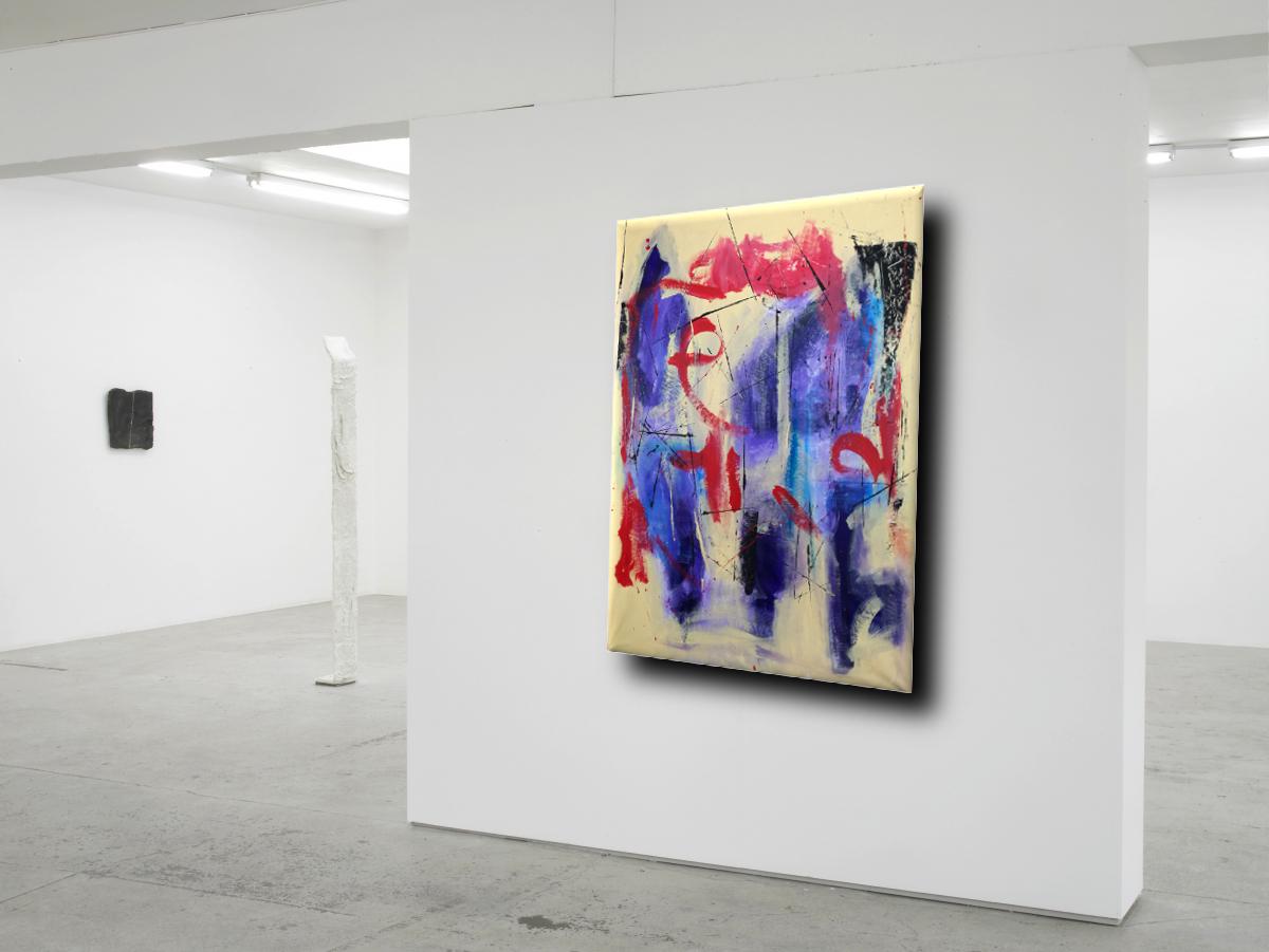 dipinti astratti grandi dimensioni 120x80 per soggiorno  sauro bos