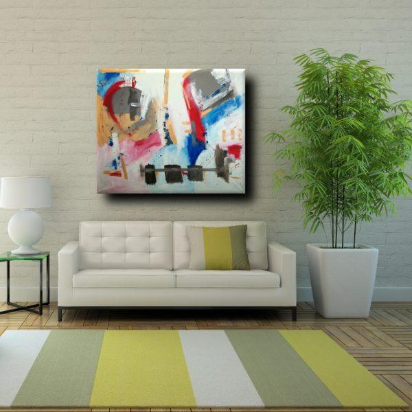 Quadri moderni per soggiorno la scelta giusta variata - Idee per quadri moderni ...