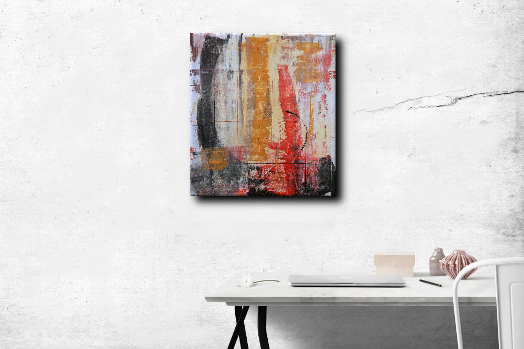 Quadri Moderni Su Tela : Quadri moderni ad olio colorati su tela grandi dimensioni
