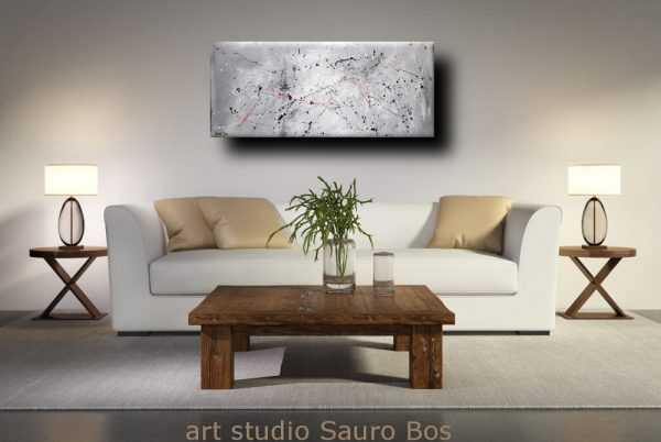 amnesiadivnoce astratto moderno 1 600x402 - quadro astratto per soggiorno cucina