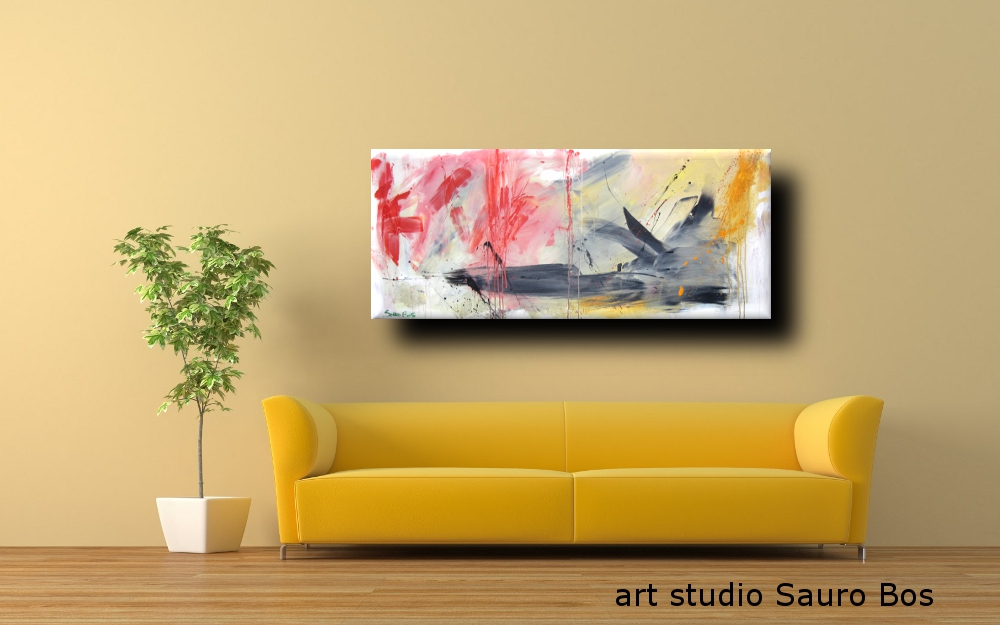 paesaggioinformale2divg - quadro astratto moderno 3
