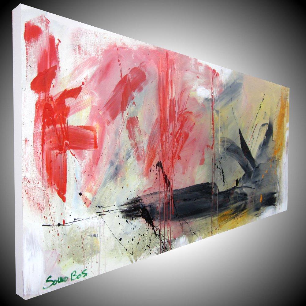 paesaggioinformale2dx - quadro astratto moderno 3