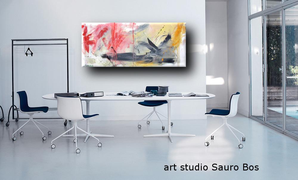 paesaggioinformale2office - quadro astratto moderno 3