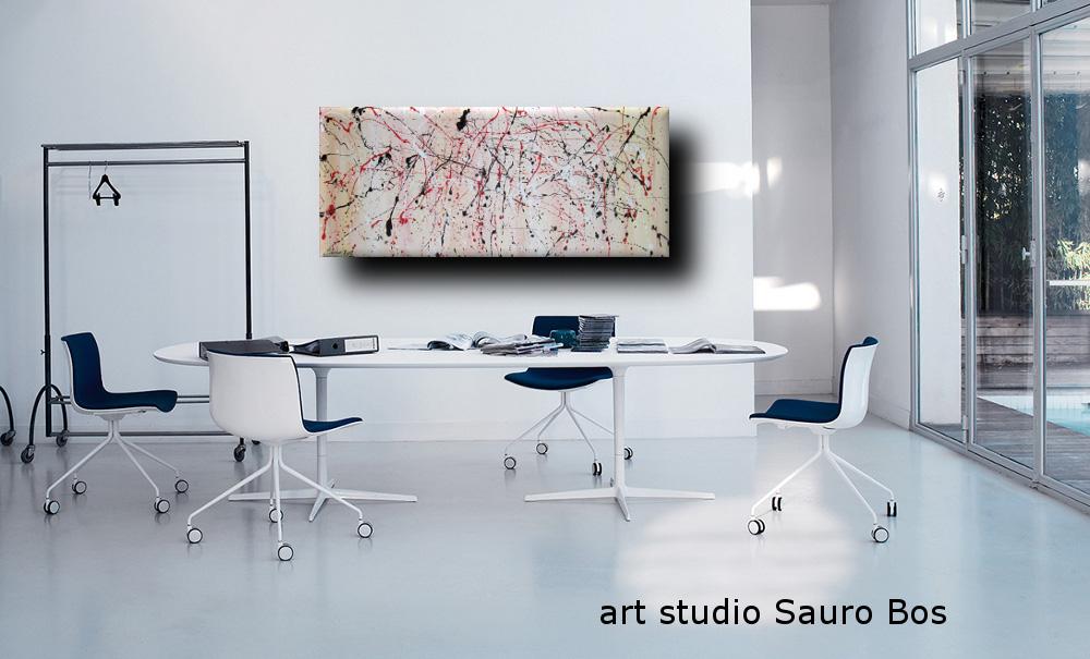 poeticoufficio - dipinto astratto moderno