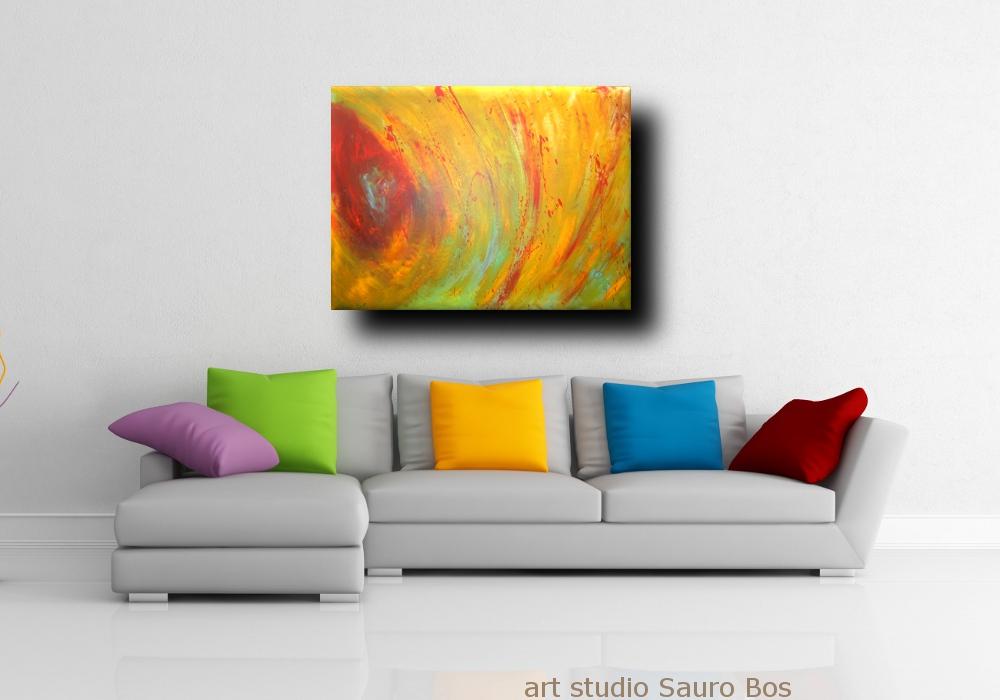 quadri astratti moderni colorati | sauro bos