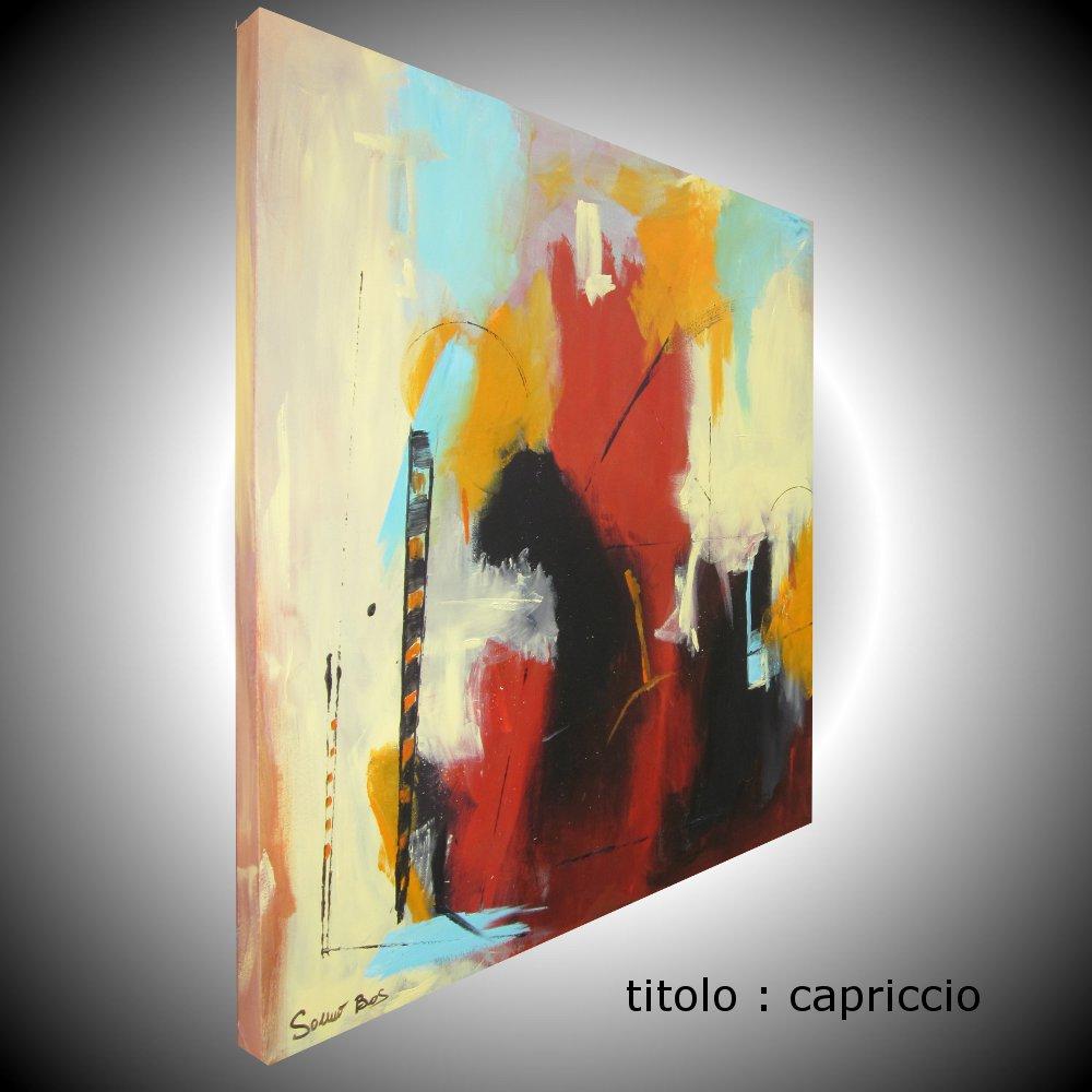 capricciodx - quadro astratto moderno quadrato