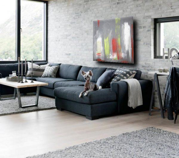 eroico quadro astratto 600x530 - quadro astratto per soggiorno