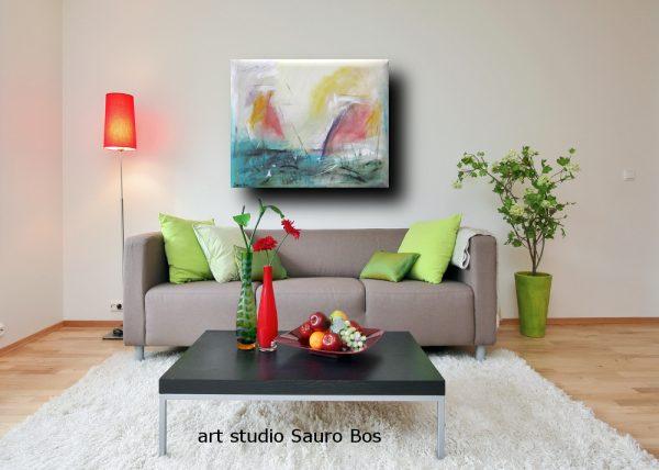 leveledivgrigio 600x428 - dipinto astratto per soggiorno
