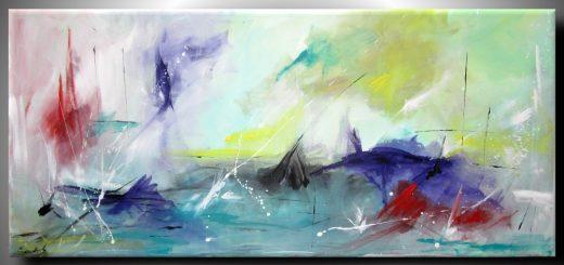 ondeggio 520x245 - quadri astratti moderni colorati