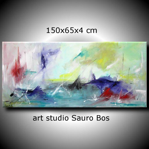 ondeggio 600x600 - quadro astratto per soggiorno