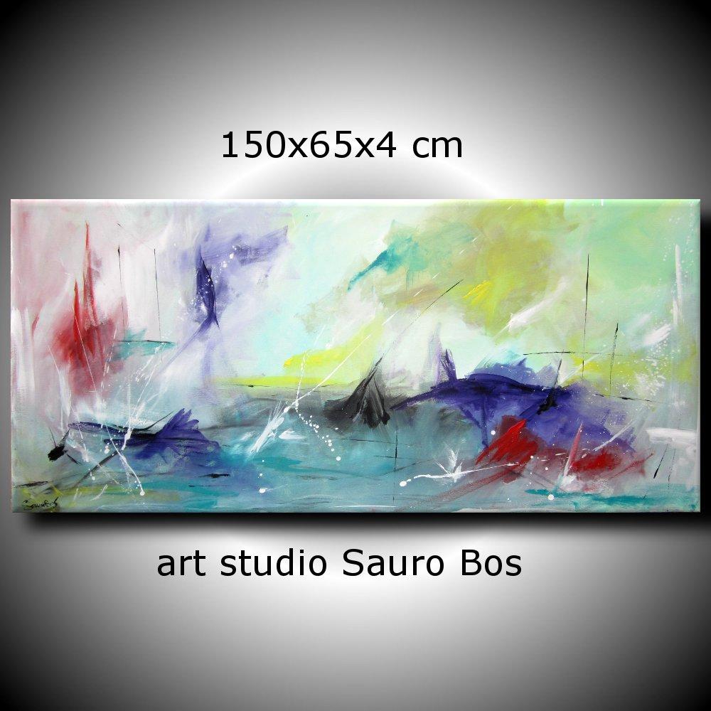 ondeggio - quadri astratti moderni colorati