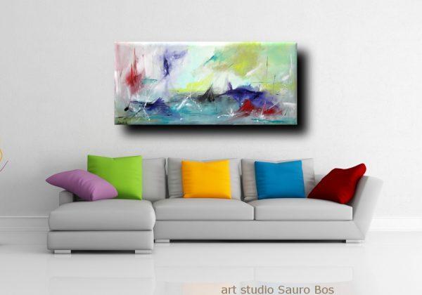ondeggiodivgrigio 600x420 - quadro astratto per soggiorno