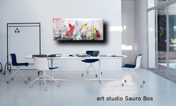 quadro astratto splashes ufficio 600x363 - quadro astratto per soggiorno