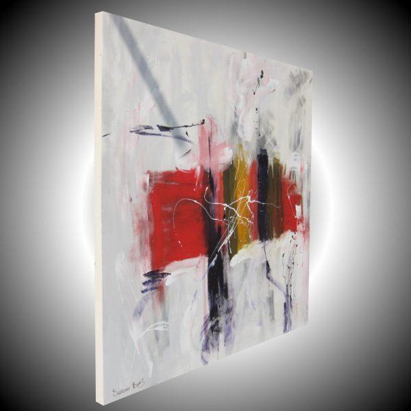 sospesodx 600x600 - quadro astratto moderno quadrato