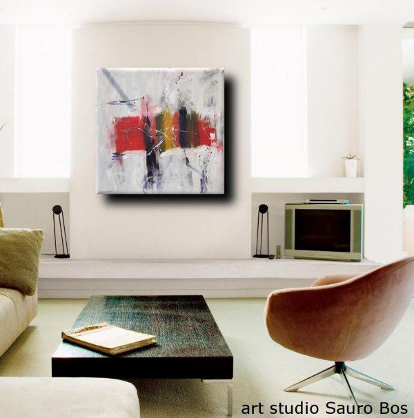 sospesose 600x606 - quadro astratto moderno quadrato