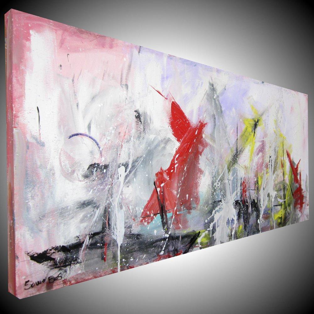 quadri astratti moderni dipinti a mano | sauro bos