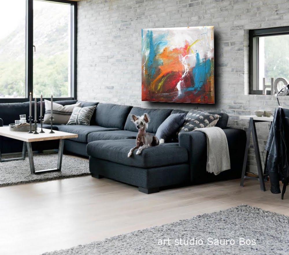 quadro astratto per soggiorno camera da letto ufficio dimensioni 120x120