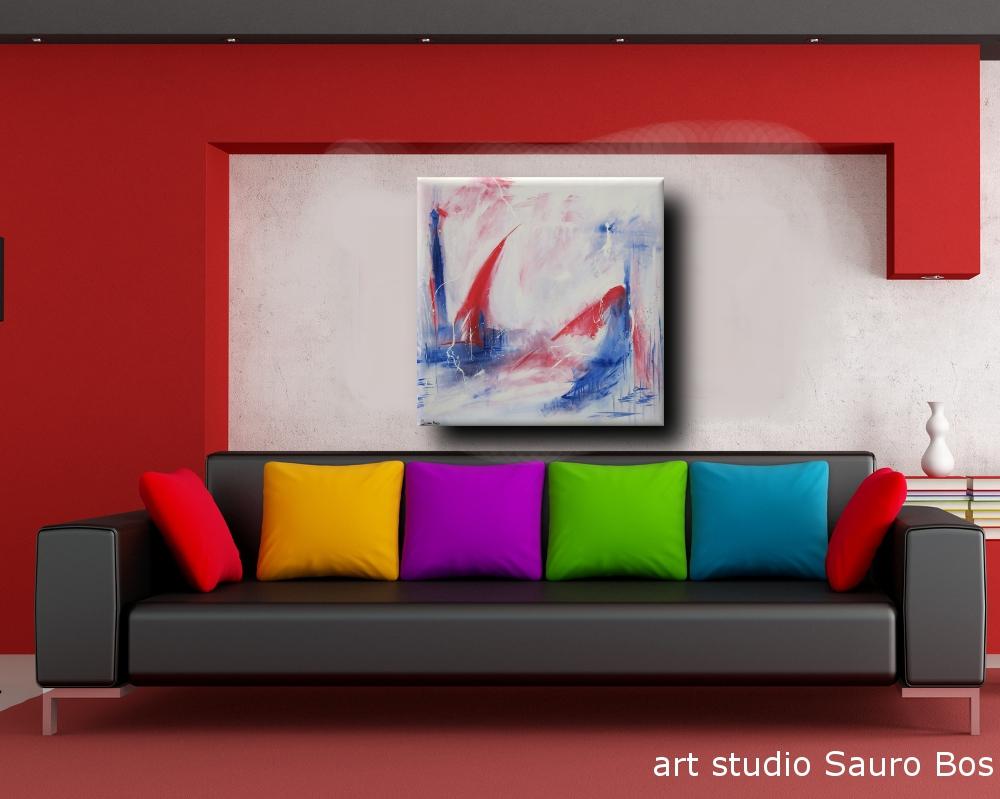 develop quadro astratto - quadro astratto per soggiorno 120x120x4