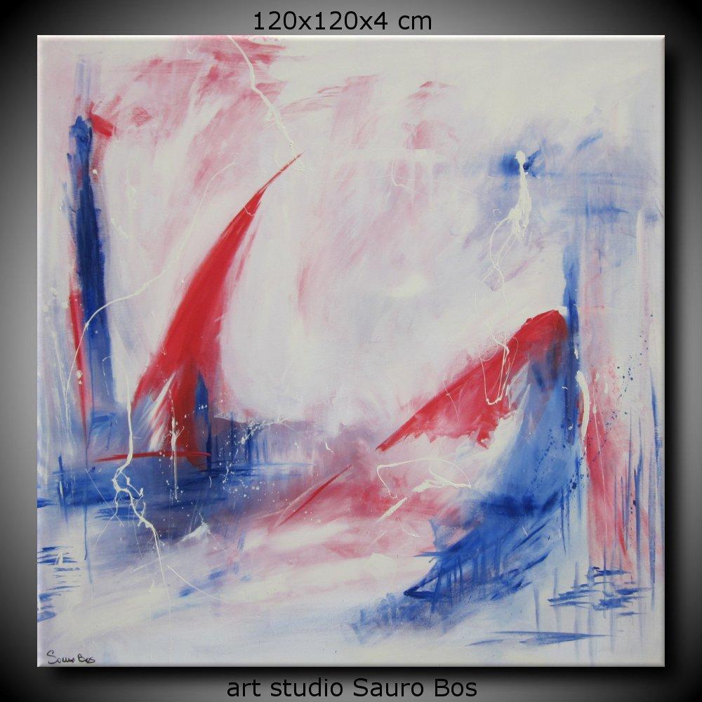 quadro astratto develop 120x120 - quadro astratto per soggiorno 120x120x4