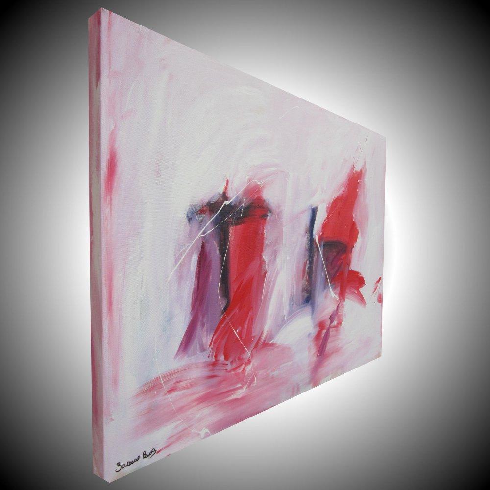 quadro astratto explained - quadro astratto per soggiorno rosso e nero