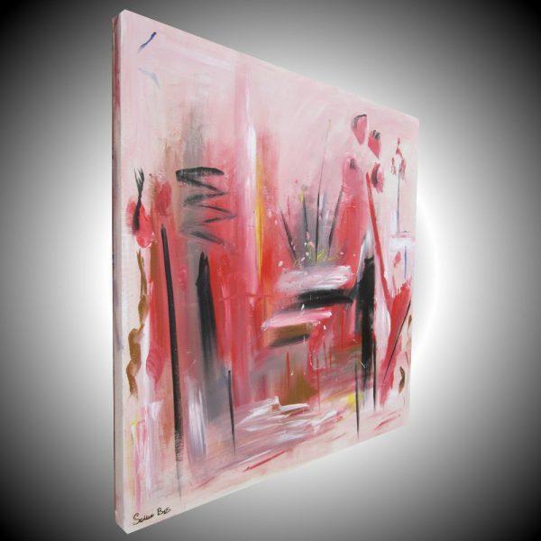 supply quadro astratto dx 600x600 - quadro astratto per soggiorno 100x100x4 rosso