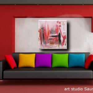 supply quadro astratto rosso nero 300x300 - quadro astratto per soggiorno 100x100x4 rosso