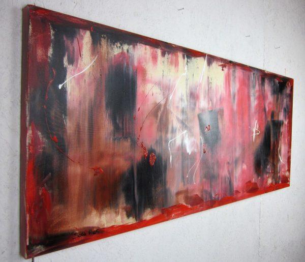dx quadri astratti rosso astratto 600x515 - quadri astratti informali  per soggiorno rosso e nero
