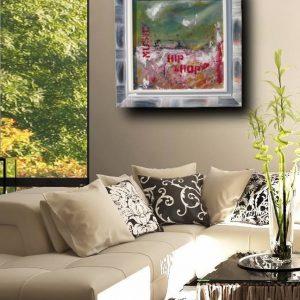 hip hopdiv 300x300 - quadro astratto moderno con cornice olio