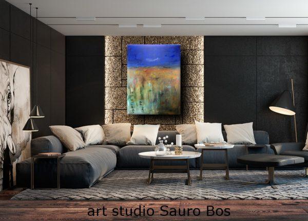 quadro moderno ski1 600x432 - quadro moderno per soggiorno