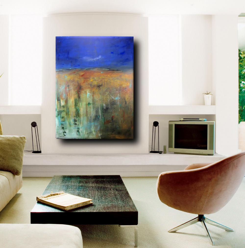 quadro moderno soggiorno sky - quadro moderno per soggiorno