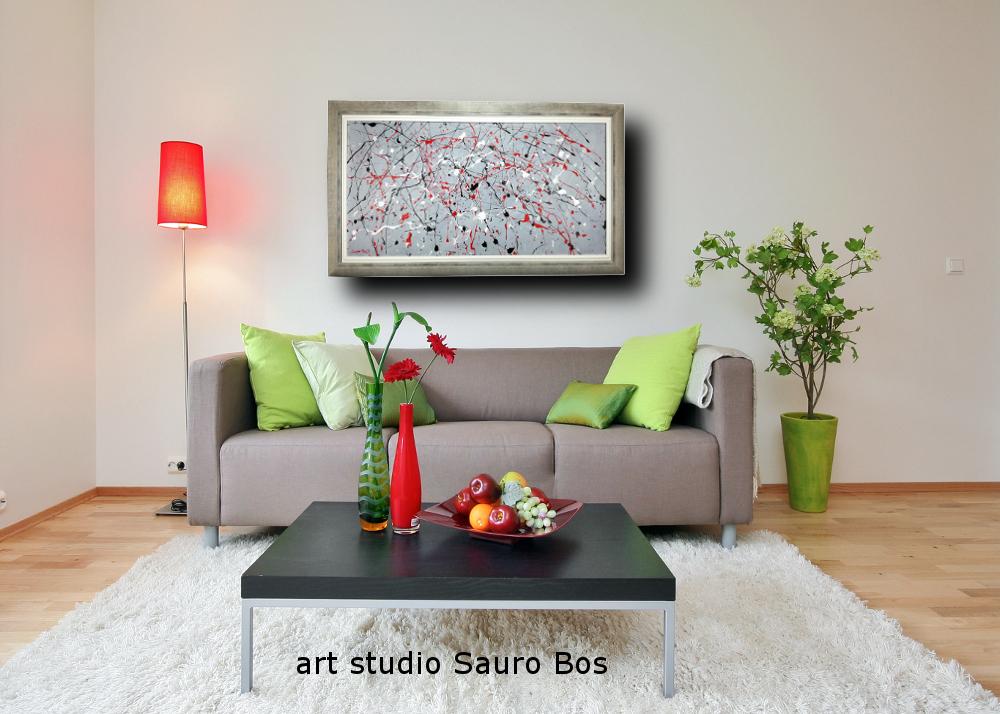 a8 quadri astratti con cornice - quadri astratti-moderni con cornice