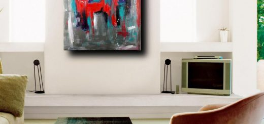 boomred quadri astratti per soggiorno 520x245 - quadri astratti moderni vendita online