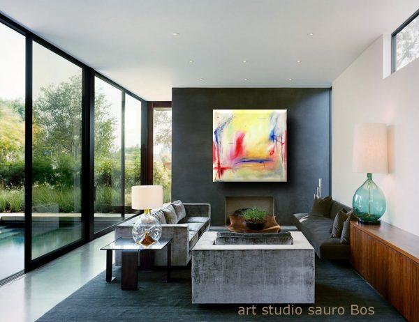 exist quadri astratti olio su tela 100x100 600x462 - quadro astratto quadrato 100x100