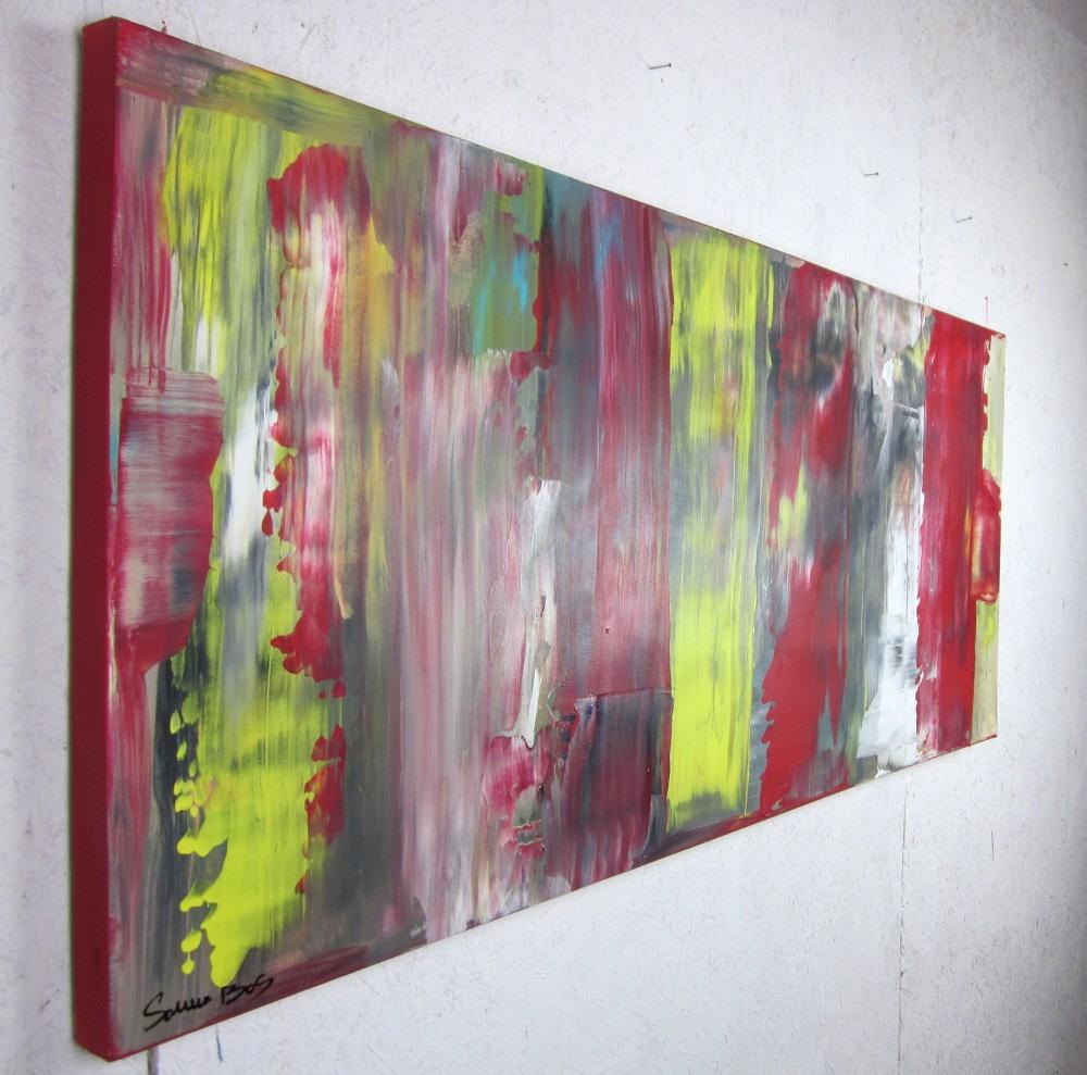quadri astratti info a5 - quadri astratti informali  per soggiorno nero rosso