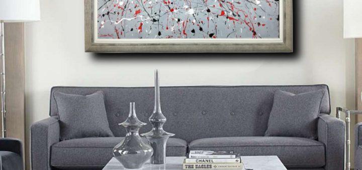 quadri astratti dipinti a mano Archivi   sauro bos