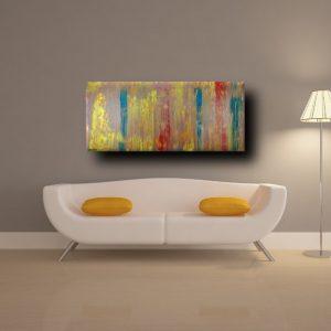 quadri astratti a16 300x300 - quadri astratti informali  tinta tortora