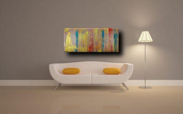 quadri astratti a16 600x375 - quadri astratti informali  tinta tortora