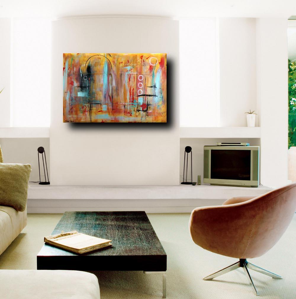 Quadri astratti 120x80 tela contro tela in rilievo sauro bos for Quadri astratti in rilievo