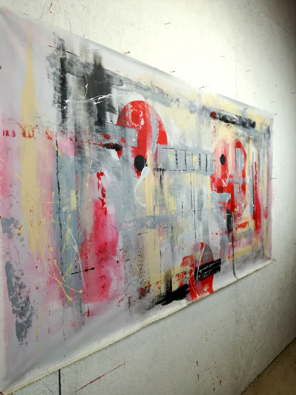 quadri moderni grandi dimensioni 180x90 olio su tela