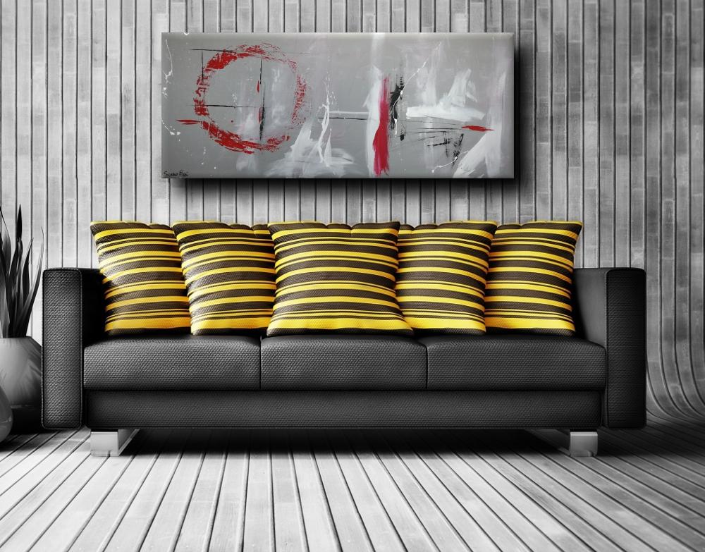 quadri astratti olio su tela a21 - quadri astratti informali  a21
