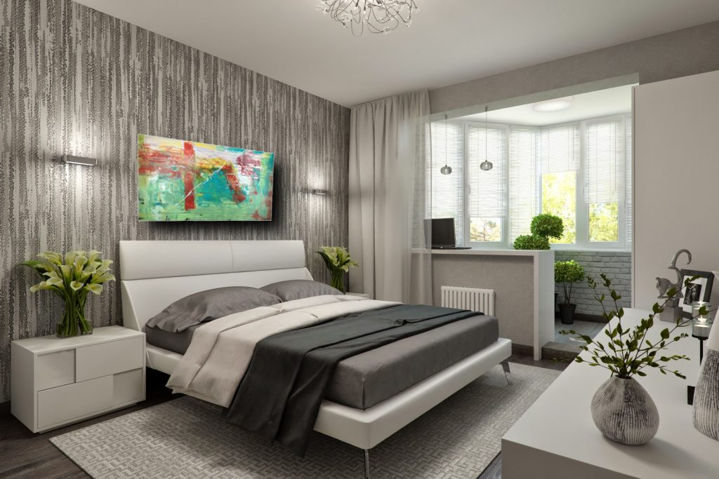 camera letto moderena c199 1024x683 - quadri moderni per salotto
