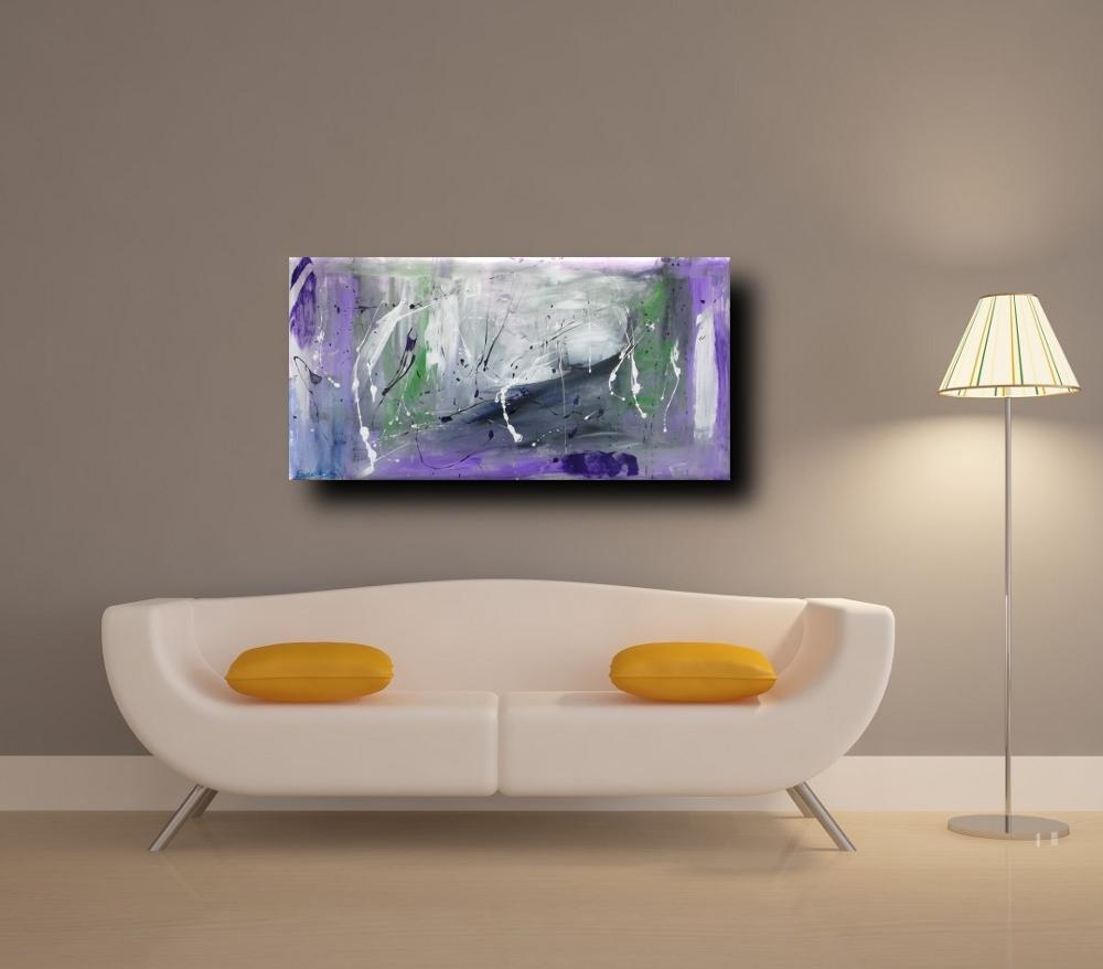 quadri moderni b10 div tortora - quadri moderni ad olio colore viola  120x60 per soggiono