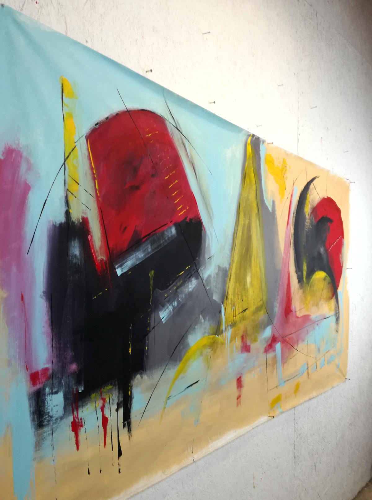 artfinderdx b32 - dipinti moderni grandi dimensioni 180x90 fatto a mano