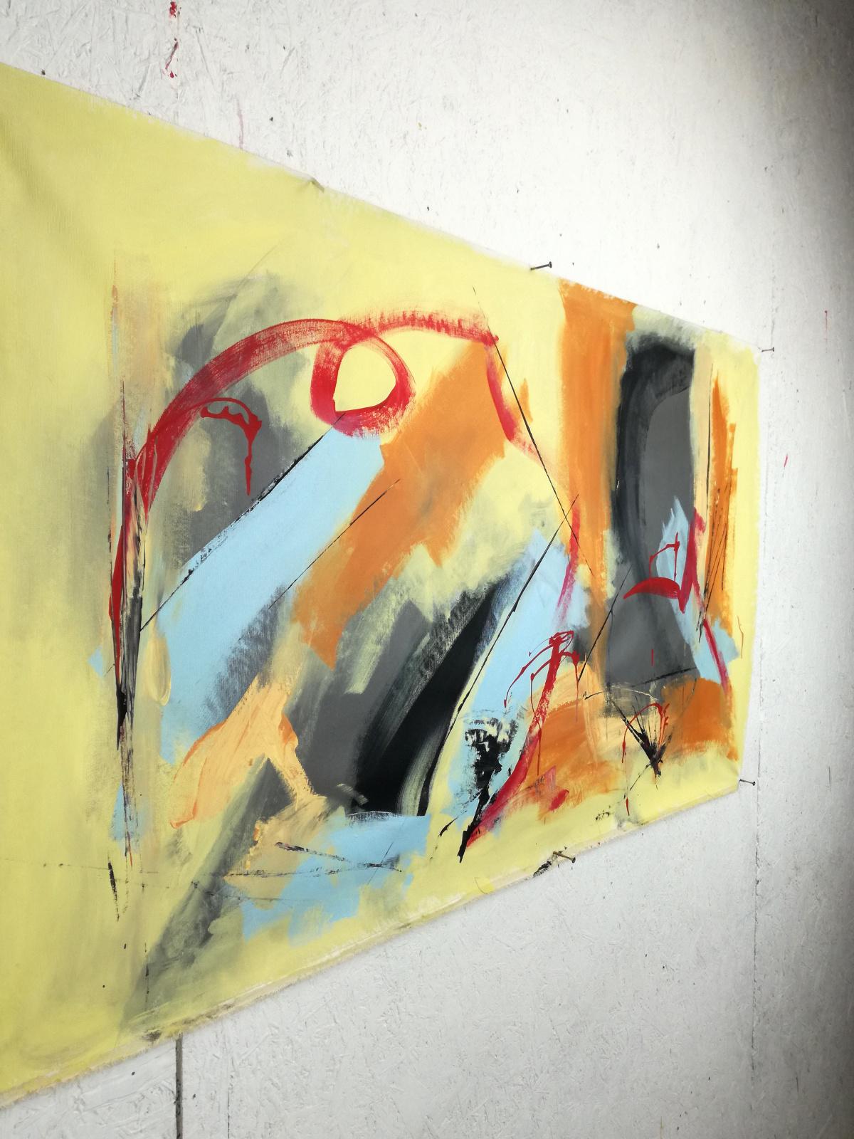 artfinderdx b40 - quadri astratti fatti a mano 120x60 xxl