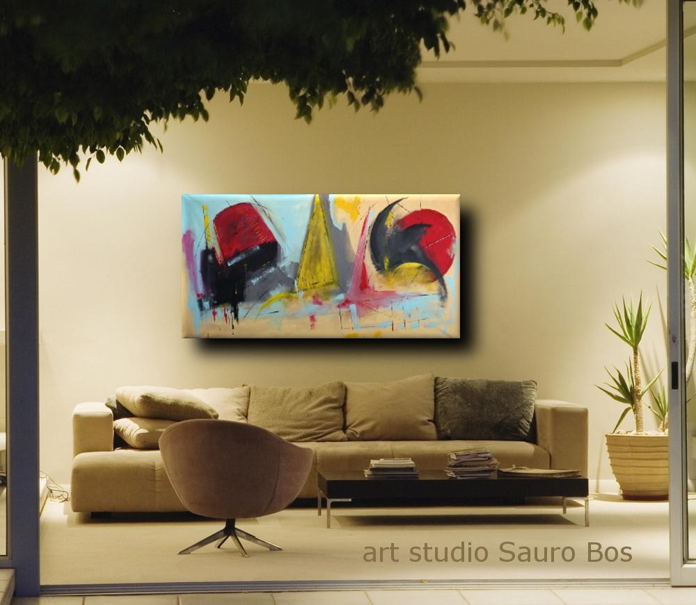 dipinti moderni fatti a mano b32 - dipinti moderni grandi dimensioni 180x90 fatto a mano