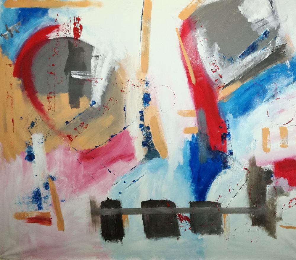 qiuadri moderni xxl b35b35 - dipinti moderni grandi dimensioni 155x130