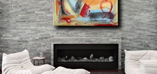 quadri astratti b38 520x245 - quadri arredamento design moderno